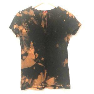 Esprit Custom Bleached Tie Dyed T-Shirt